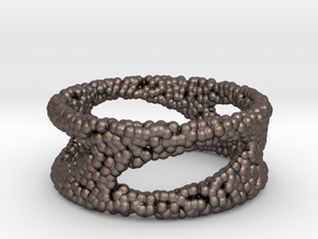 Frohr Design Bracelet Sphere in Polished Bronzed Silver Steel