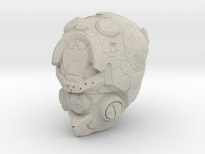 Halo 5 Pioneer 1/6 scale helmet in Natural Sandstone