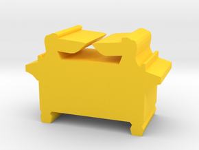 Game Piece, Ark Of The Covenant artifact in Yellow Processed Versatile Plastic