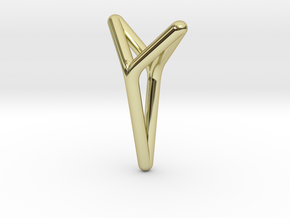 YOUNIVERSAL, Pendant. Bold Elegance in 18K Gold Plated