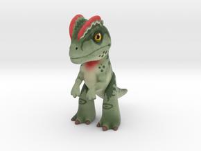 Dilophosaurus in Full Color Sandstone