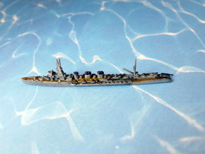 IJN Light Cruiser Kitakami 1945 1/1800 in Smooth Fine Detail Plastic