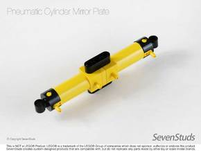 Pneumatic Cylinder Mirror Plate in Yellow Strong & Flexible Polished