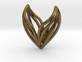 sWINGS S, Pendant in Polished Bronze