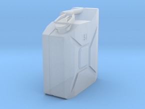 5L Jerry Can 1/10 scale in Smooth Fine Detail Plastic