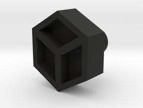 Leather stamp 6, honeycomb leathertool design  in Black Natural Versatile Plastic