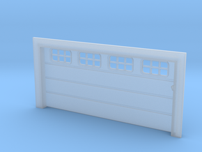 Double Car Residential - Square Window in Smoothest Fine Detail Plastic
