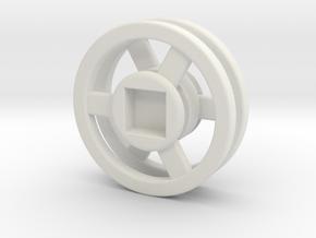 Advanced Orbital in White Natural Versatile Plastic