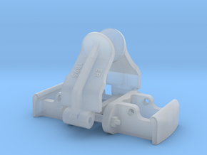 1:24 Heywood Coupler Assembly ER in Frosted Ultra Detail