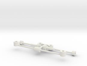 G2 Wiener Strassenbahn Kupplung in White Natural Versatile Plastic