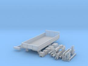 Zetros 6x6 Pritsche mit Kran in Smooth Fine Detail Plastic