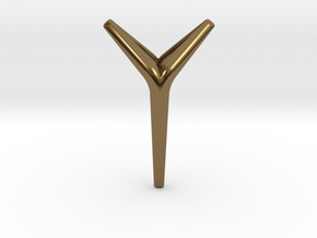 YOUNIVERSAL SERENE Pendant. Smooth Chic in Polished Bronze