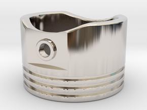 Piston - US Size 8.5 in Platinum