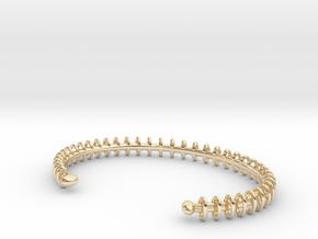 Ring Loop Bracelet in 14K Yellow Gold