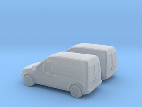 1/148 2X 2002-08 Ford Transit Connect/English in Frosted Ultra Detail
