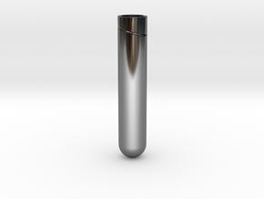Sailor Mooon Transformation Pen - Bottom in Fine Detail Polished Silver