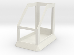 Mod Stand 1 in White Natural Versatile Plastic