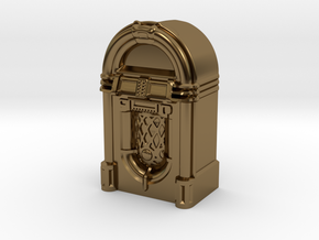 28mm/32mm scale JukeBox  in Polished Bronze