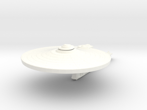 Saladin Class Refit    Small in White Strong & Flexible Polished