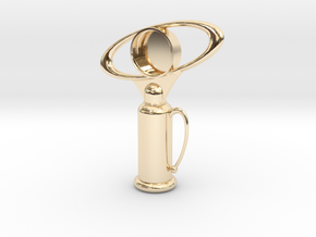 Sailor Mooon Transformation Pen - Top in 14K Yellow Gold