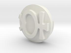 Sailor Mooon Transformation Pen - Mercury in White Natural Versatile Plastic