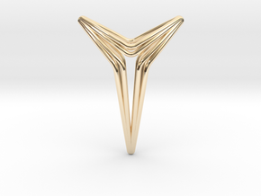 YOUNIVERSAL Star Pendant in 14K Yellow Gold