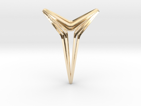 YOUNIVERAL Star S.01 Pendant in 14K Yellow Gold