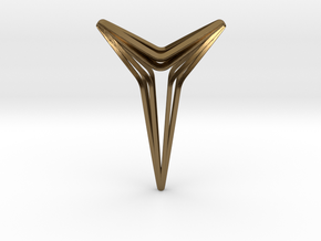 YOUNIVERAL Star S.01 Pendant in Polished Bronze