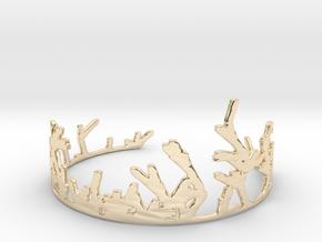Growing Bracelet v.2 in 14k Gold Plated Brass
