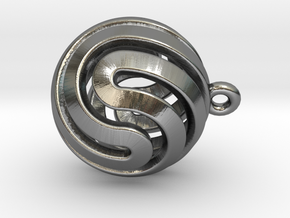 Ball-small-14-5 in Polished Silver