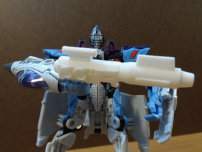 Sunlink - BC13 MW Clone Seekers Weapon in White Natural Versatile Plastic