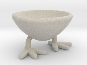 Two-legged Coquetier in Natural Sandstone