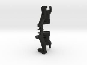 XL Axle Right Servo Kit (v1 CHubs) For Steering Co in Black Natural Versatile Plastic