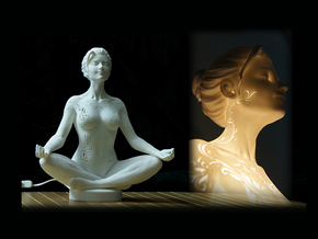 Meditation 30cm  in White Strong & Flexible