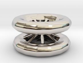 Double Wheel Export 3 in Platinum
