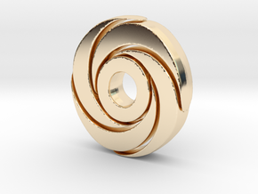 Strong Sprial in 14K Gold