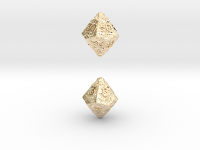 ANCIENT RELICS d10 d00 in 14K Yellow Gold
