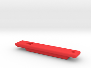 whistle rectangular in Red Processed Versatile Plastic