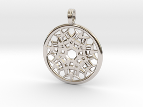SUBTLE FORCE in Rhodium Plated