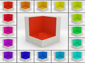 LuminOrb 2.1 - Cube Stand in Full Color Sandstone