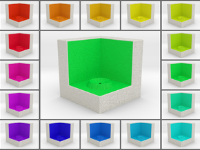 LuminOrb 2.2 - Cube Stand in Full Color Sandstone