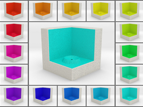 LuminOrb 2.5 - Cube Stand in Full Color Sandstone
