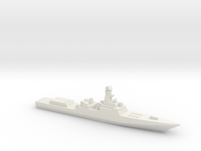 Project 21956 Destroyer w/ barrels, 1/3000 in White Natural Versatile Plastic