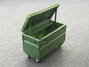 Contractors Tool Bin 1/87 (HO Scale) in Frosted Ultra Detail