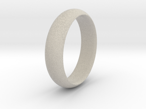 Wedding ring in Natural Sandstone