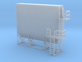 N Scale Dust Filter Nr2 in Smooth Fine Detail Plastic