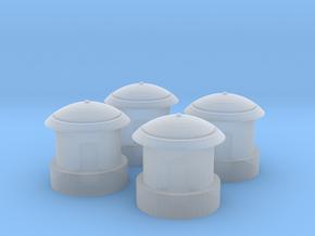 1/ 64 Tubro Precleaner in Smooth Fine Detail Plastic