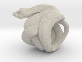 Snake No.1 in Natural Sandstone