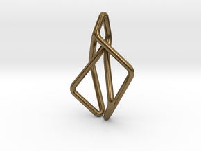 N-Line No.2 Pendant. Natural Chic in Natural Bronze