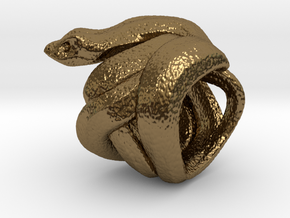 Snake No.2 in Polished Bronze